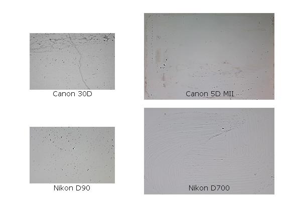 Найти и уничтожить пыль на матрице вашего фотоаппарата!