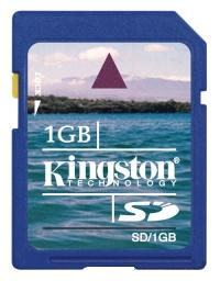 Флеш карта на 1GB Kingston SecureDigital SD