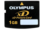 Флеш карта на 1GB Olympus xD-Picture xD