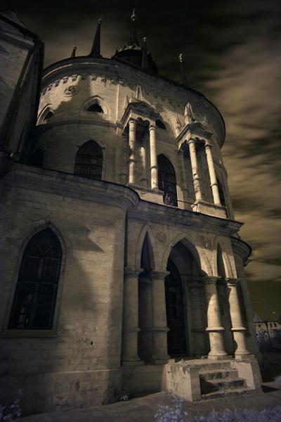 Инфракрасная фотосъемка архитектуры