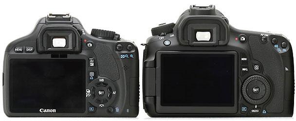 Canon 60D vs Canon 550D